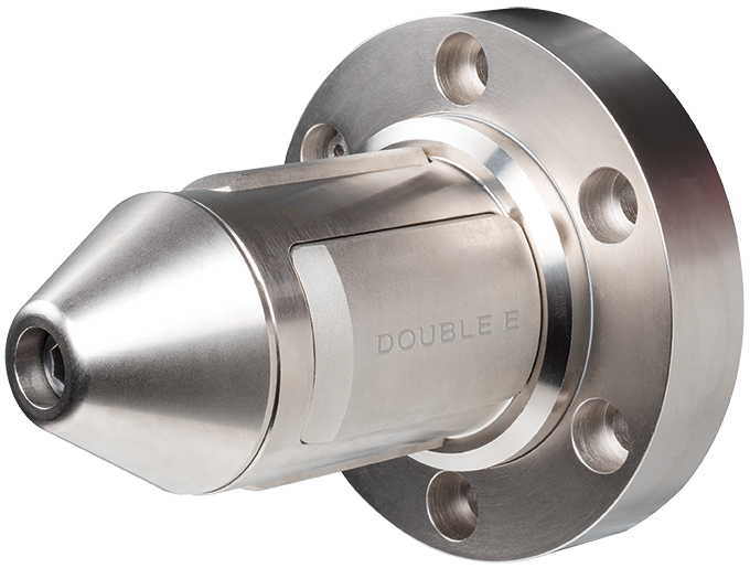 Double E DF-2000 torque-activated shaftless core chuck