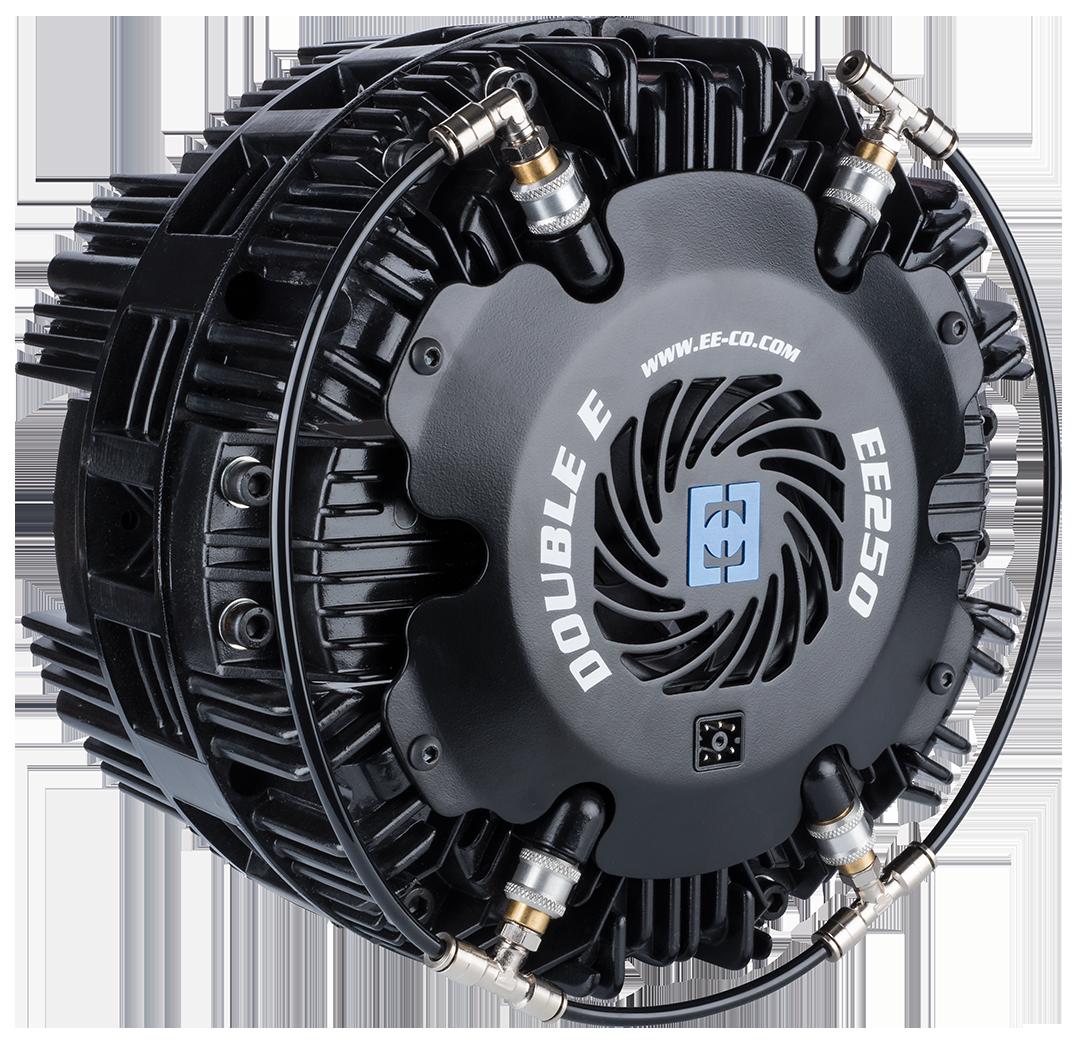 <p>Frenos Neumáticos para portarrollos de desenrollado</p>