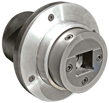 Double E flange mount Auto-Lock™ self-closing safety chuck