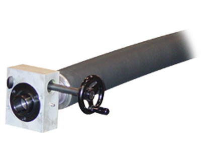Bowed roller with handwheel from Double E International