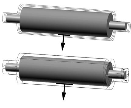 Static roller balancing