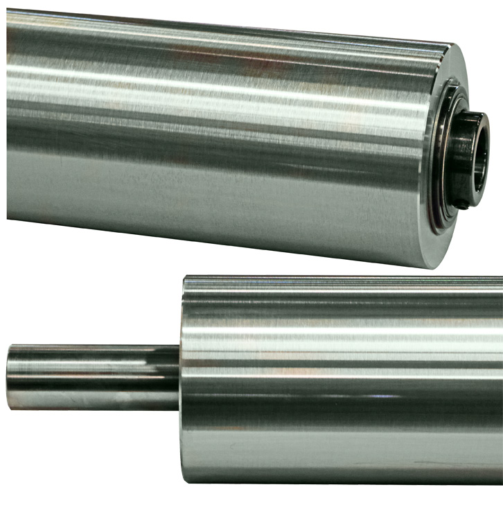Stainless Steel Idler Rollers - Overview
