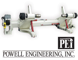 Powell Engineering roll stand from the Double E Company - Model EP
