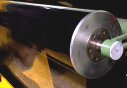 Rodillos locos de fibra de carbon