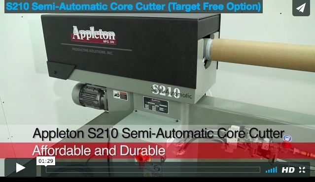 Appleton S210 Core Cutter Overview